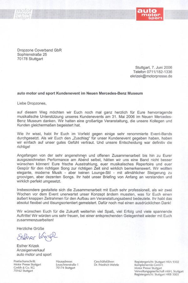 Empfehlung der Motor Presse Stuttgart – Auto Motor Sport