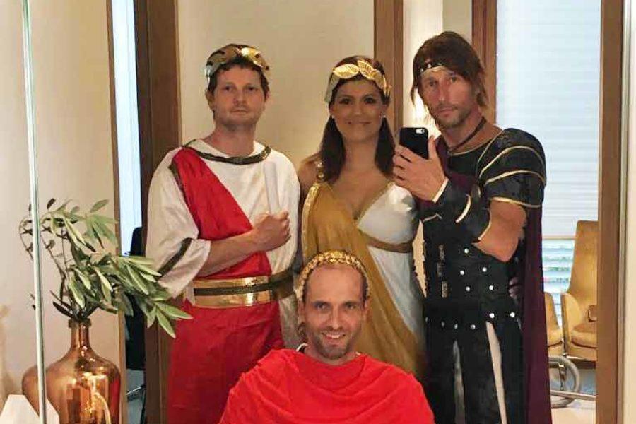 Mottoparty: Wie bei den alten Römern